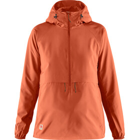 Fjällräven High Coast Lite Anorak Dames, rowan red